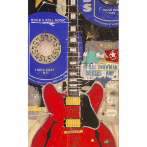 Chuck Berry Guitar Red Gibson ES 335