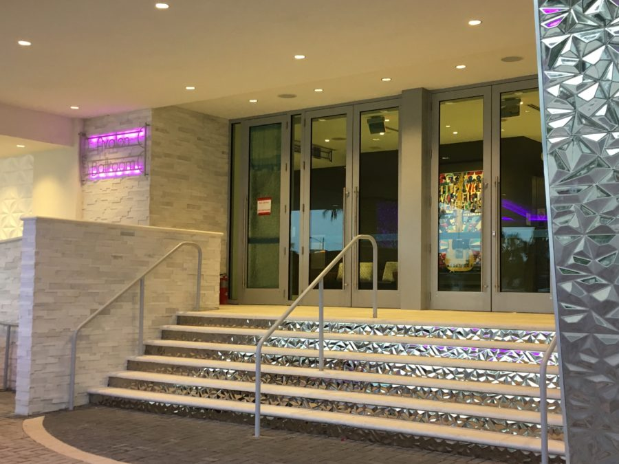 Hard Rock Hotel Ballroom Entrance Daytona Beach